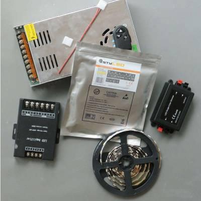 LED-Set mit Dimmer für indirekte Beleuchtung SMD3528 mit 120 LED pro Meter - 5 - 25 Meter