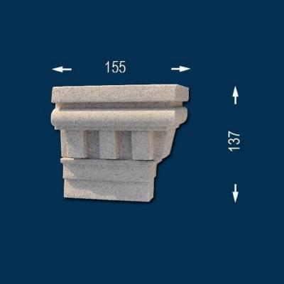 """Fassadenprofile """"Wiesemann FP14-b"""" - Endstück rechts"""