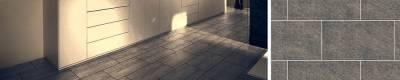 <h1>Vinylboden Fliesenoptik<br><span>Zeitgemäße Planken im vertrauten Fliesenformat</span></h1>
