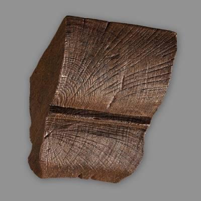 Wiesemann Konsole 9 x 6 cm, Dunkelbraun