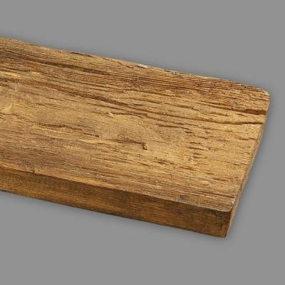 Wiesemann PU-Brett, 13 x 3 x 260 cm, aus hochfestem Polyurethan, hellbraun