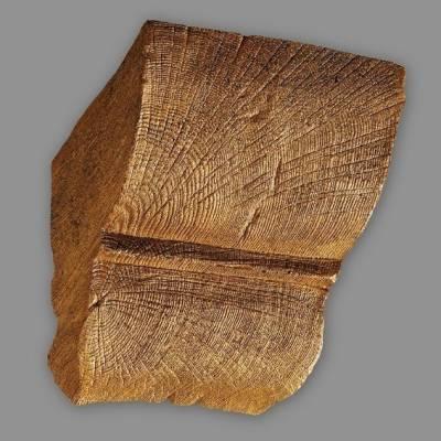 Wiesemann Konsole für PU-Balken 20 x 13 cm, hellbraun