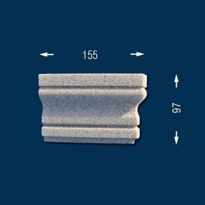 """Fassadenprofile """"Wiesemann FP8-b"""" - Endstück rechts"""