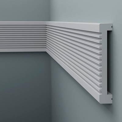 Zierleiste / Wandleiste 6.51.704 Lines   aus hochfestem und wasserfestem Polystyrol