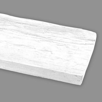 Wiesemann PU-Brett, aus hochfestem Polyurethan, 13 x 3 x 260 cm, Weiß
