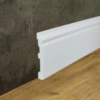 """Fußbodenleiste """"Den Haag"""" (NMC FLOORSTYL® - FO2) aus schlagfestem, wasserbeständigem Kunststoff"""