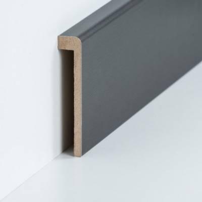 Abdeckleiste für Fliesensockel bis 85 mm (MDF foliert / 72.96.13.85.47) - Farbe: Titan 2aegjkz86