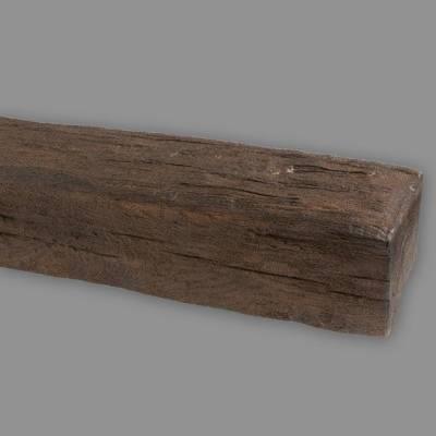 Wiesemann PU-Balken, aus hochfestem Polyurethan, 9 x 6 x 400 cm, dunkelbraun