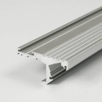 "LED Aluminium profil ""Kiens"" für Treppenkanten (Lichtleisten)"