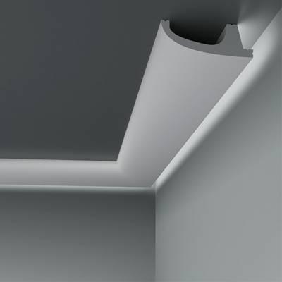Lichtleiste / Stuckleiste 6.53.701 Lines | aus hochfestem und wasserfestem Polystyrol