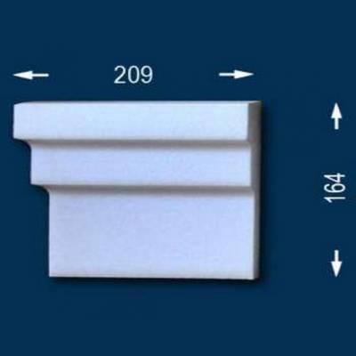 "Fassadenprofile ""Wiesemann FP17"" - Endstück links"