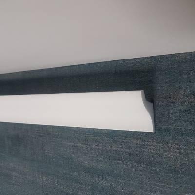 """Lichtleiste """"Amati"""" (NMC Wallstyl IL3) - für indirekte Beleuchtung - aus hochfestem Polystyrol"""