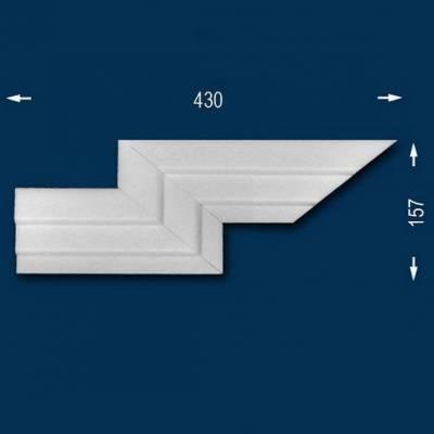 "Fassadenprofile ""Wiesemann FP9"" - Doppeleckstück links"