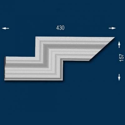 "Fassadenprofile ""Wiesemann FP8"" - Doppeleckstück links"