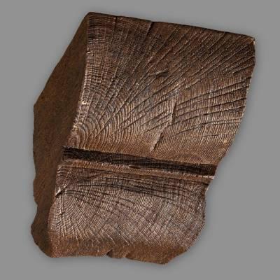 Wiesemann Konsole für PU-Balken 20 x 13 cm, Dunkelbraun